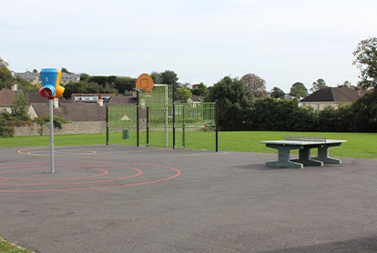 multi use games area at clifford park